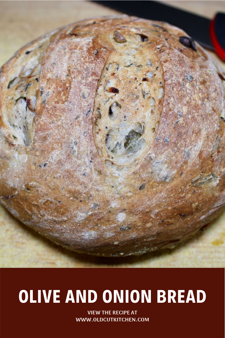 olive and onion bread homemade
