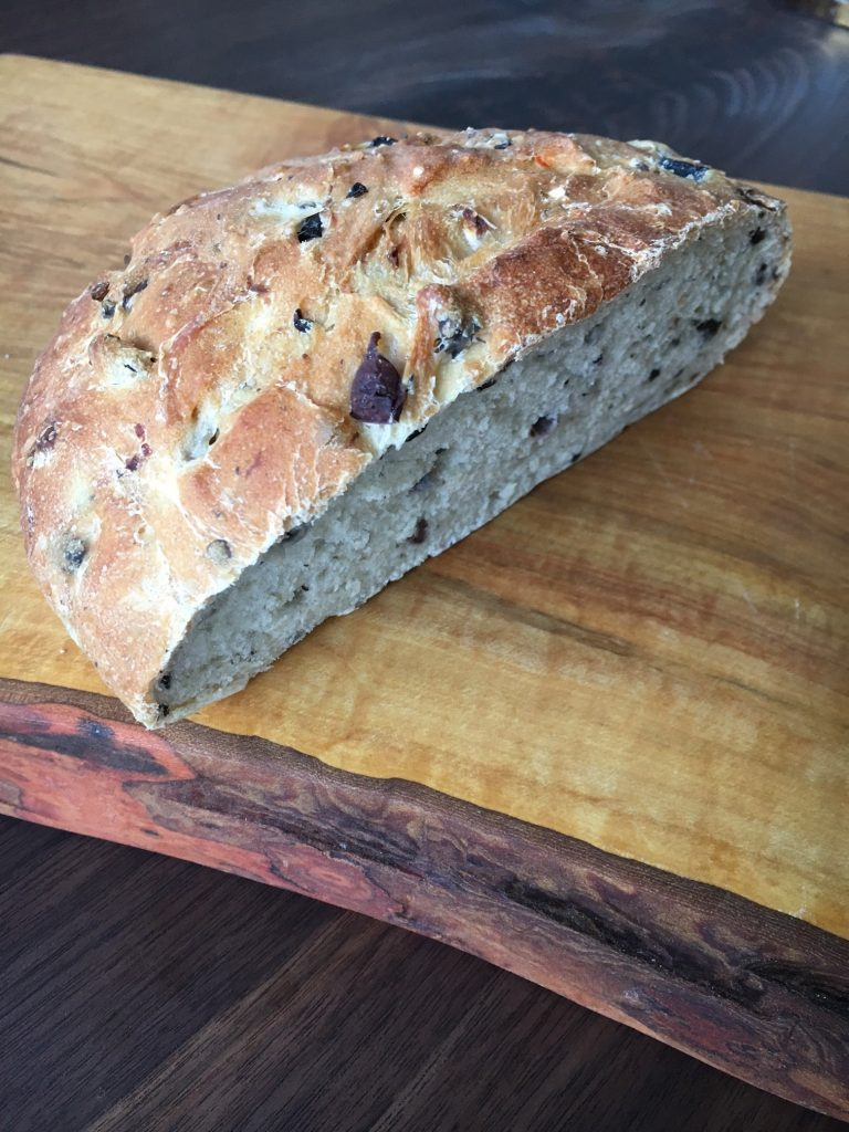 olive onion bread