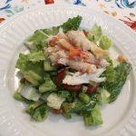 crabocado caesar salad