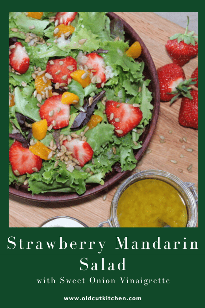 strawberry mandarin salad