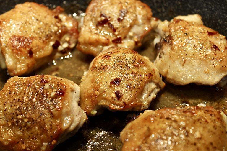 sweet chili thai chicken thighs