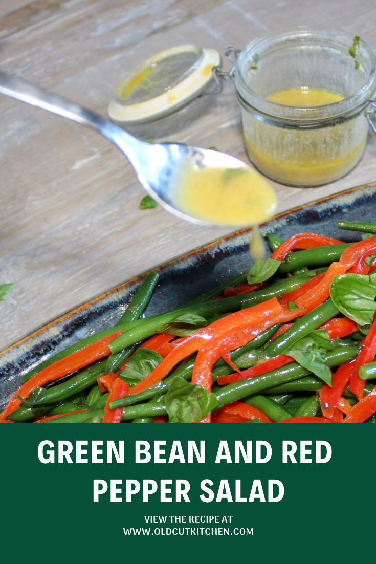 green bean red pepper salad dijon vinaigrette