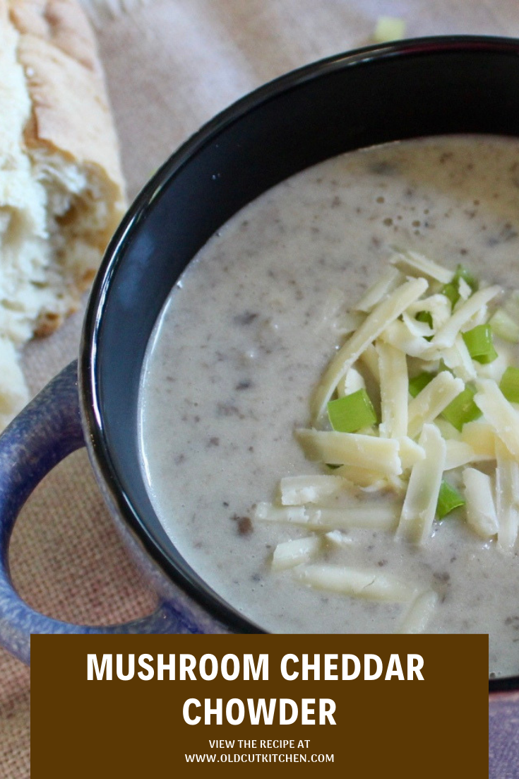 mushroom cheddar chowder soup mr greenjeans