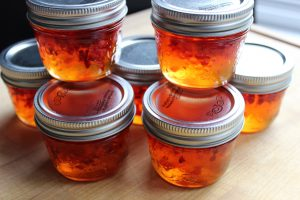 red pepper jelly hot pepper jelly