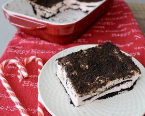 peppermint wafer dessert