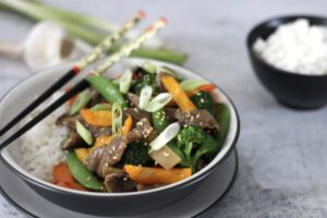beef vegetable stir fry