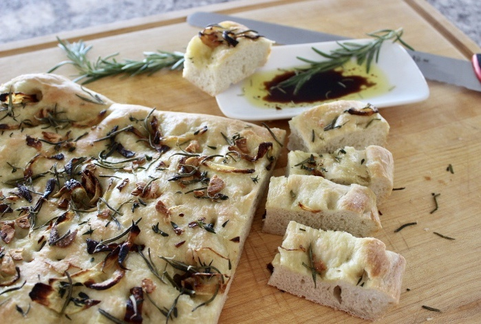 Easy Focaccia Bread Old Cut Kitchen Made With Frozen Pizza Dough