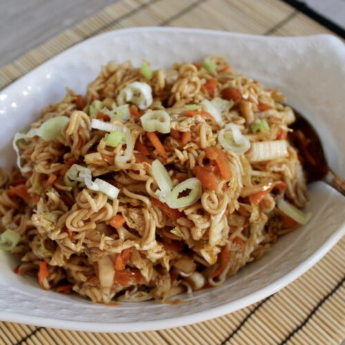 napa cabbage and ramen noodles salad recipe