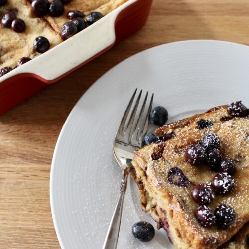 cinnamon raisin baked breakfast
