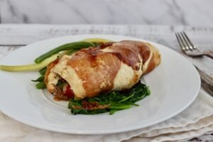 stuffed rolled chicken breast