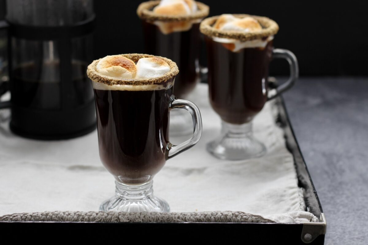 S'mores Coffee Cocktail