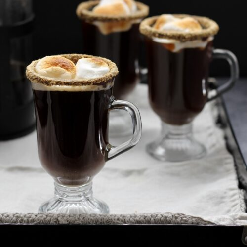 smores coffee cocktail